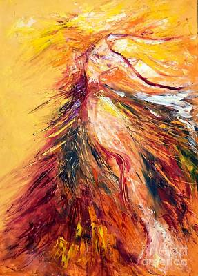 Painting - Color Dance by Marat Essex