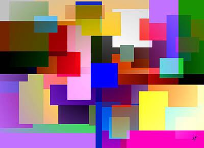 Digital Art - Color Dimensions  by Shelli Fitzpatrick