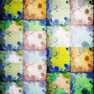 Mixed Media - Color Drops 3 by Ann Calvo