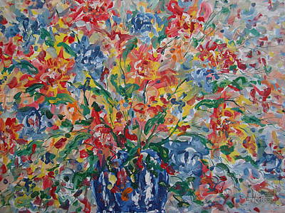 Painting - Color Expressions. by Leonard Holland