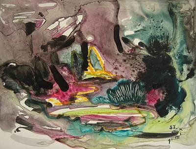 Color Fever 136 Art Print by Seon-Jeong Kim