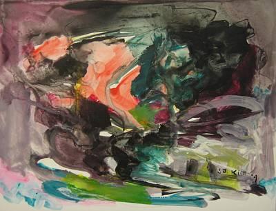 Color Fever111 Art Print by Seon-Jeong Kim