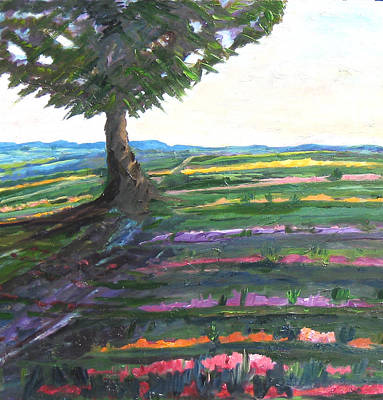 Painting - Color Fields by Carolyn Zaroff