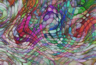 Color Flow Art Print