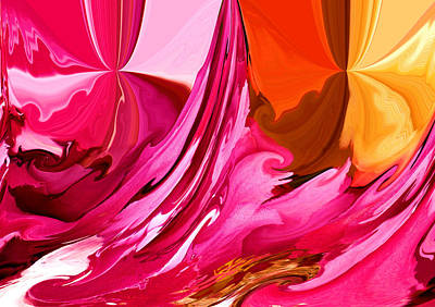 Abstract Expressionism Photograph - Color Fusion by Karen M Scovill