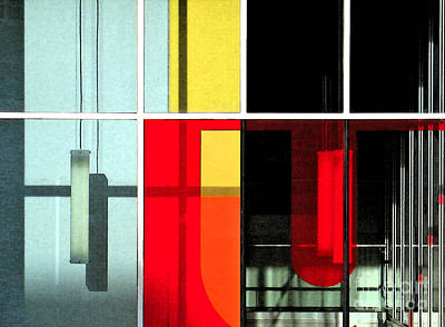 Scale Digital Art - Color Grid 1 by Gary Everson