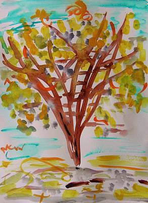 Painting - Color In Autumn by Mary Carol Williams