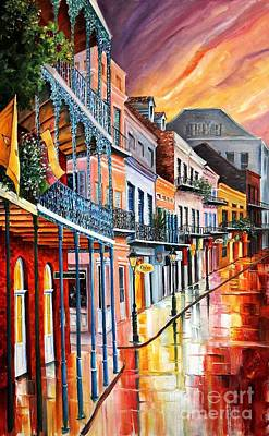 Color In The Quarter Original by Diane Millsap