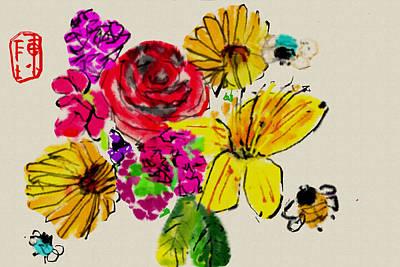 Digital Art - Color It Colorful by Debbi Saccomanno Chan