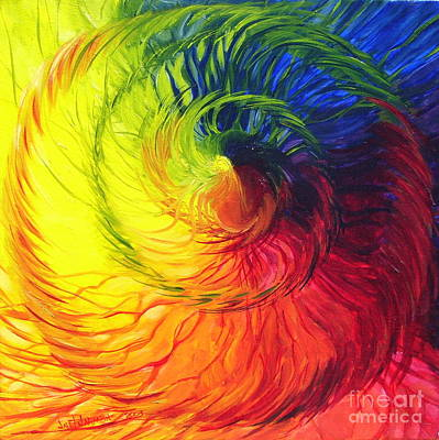 Color Art Print by Jeanette Jarmon