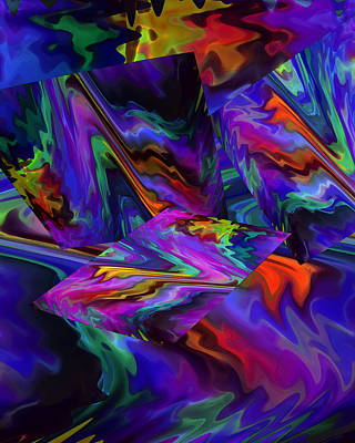 Digital Art - Color Journey by Lynda Lehmann