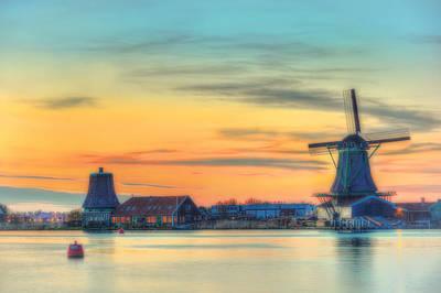 Zaanse Schans Photograph - Color Light by Midori Chan