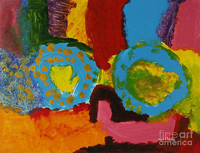 Multi Colored Painting - Color Mania by Katie OBrien - Printscapes