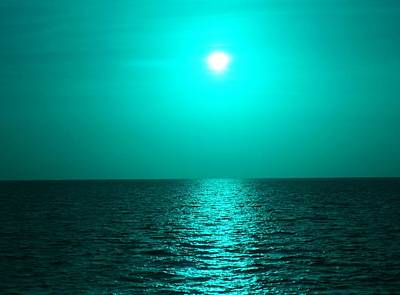 Photograph - color Me Sea by Florene Welebny