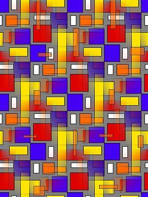 Contemporary Digital Art - Color Mix by Kathleen Sartoris