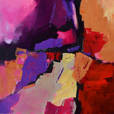 Abstractions Painting - Color My Dreams - Art By Elise Palmigiani by Elise Palmigiani