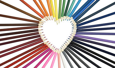 Photograph - Color My Heart by Vava Fuller-quinn