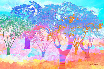 Digital Art - Color My World by Mike Braun