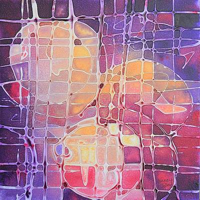 Painting - Color Odyssey by Nancy Jolley