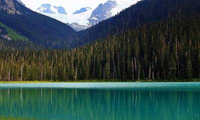 Photograph - Lower Joffre Lake by Heather Vopni
