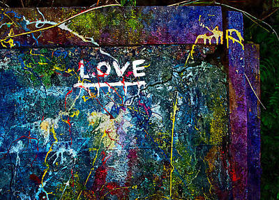 Painting - Color Of Love by Rick Mosher