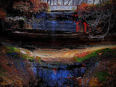 State Love Nancy Ingersoll - Color of Minnehaha Falls by Eric Wait