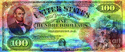 Hippy Photograph - Color Of Money by Jon Neidert