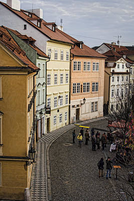 Photograph - Color Of Prague by Heather Applegate