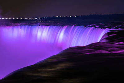 Photograph - Color On Horseshoe Falls #3 by Michael Blanchette