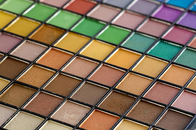 Photograph - Color Palette For The Eyes by Teri Virbickis
