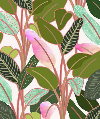 Digital Art - Color Paradise by Uma Gokhale