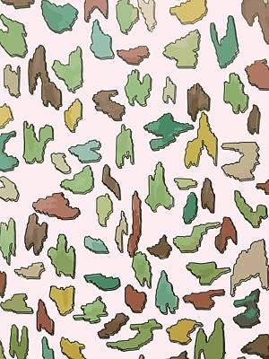 Color Pattern 3d Art Print