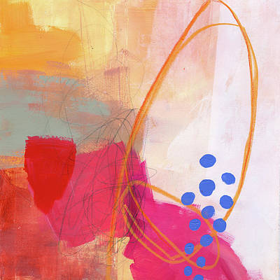 Acrylic Painting - Color, Pattern, Line #2 by Jane Davies