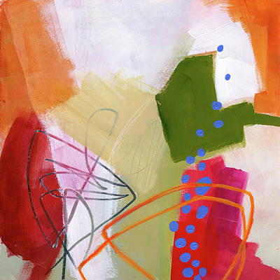 Acrylic Painting - Color, Pattern, Line #4 by Jane Davies