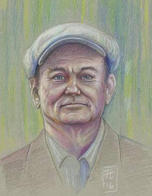 James Parker Drawing - Color Pencil Guy by James Parker