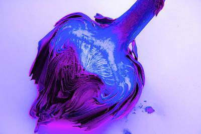 Artichoke Digital Art - Color Pop Artichoke 3 by Amanda Chase