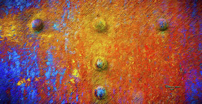 Photograph - Color Rivets by Marvin Spates