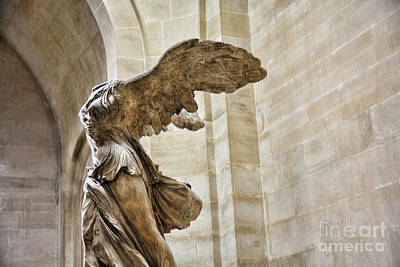 Nike Photograph - Color Samothrace IIi by Chuck Kuhn