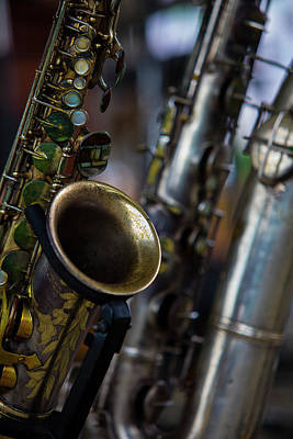 Photograph - Color Sax by Steve Gravano