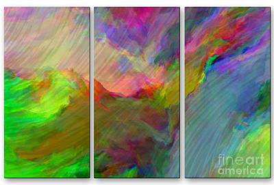 Mixed Media - Color Scape 1 by Dt