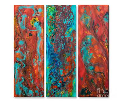 Mixed Media - Color Scape 2 by D