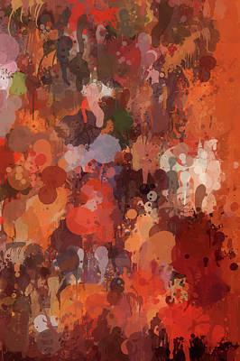 Vivid Digital Art - Color Splash 1 by Art Spectrum