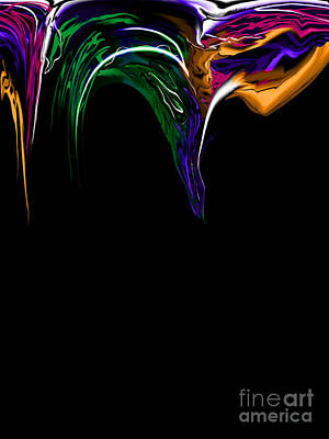 Beautiful Painting - Color Splashing  by Kathryn L Novak