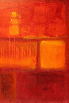 Painting - Color Study Red by Nancy Merkle