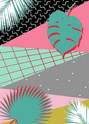 Summer Digital Art - Color Summer  by Mark Ashkenazi