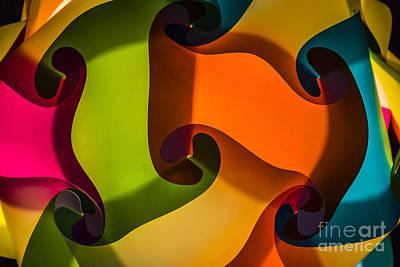 Photograph - Color Swirls by Joann Long