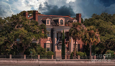 Photograph - Charleston Battery Sky by Dale Powell