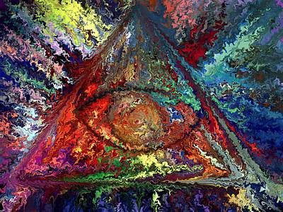 Color Triangle Original by Rafi Talby