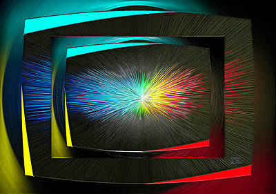 Digital Art - Color Tv by Joe Paradis