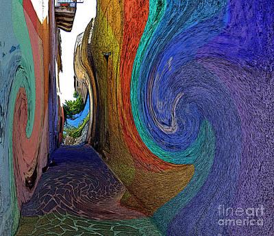 Color Undertow Art Print by Ayesha DeLorenzo